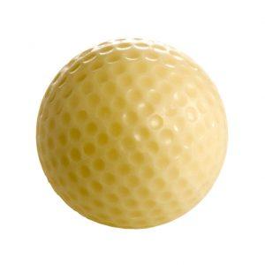 Golfpallo, valko